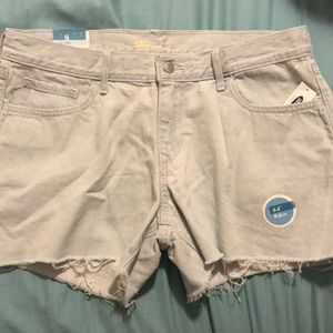 Women's low rise cut off shorts-Size 8